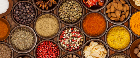 SPICES & NUTS