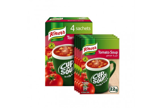 KNORR CUP-A-SOUP TOMATO 22G