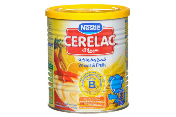 CERELAC WHEAT AND FRUITS 400G