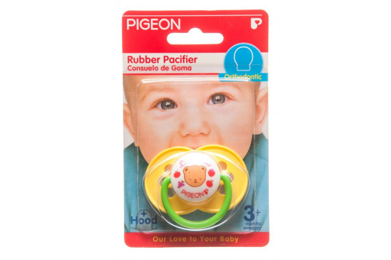 PIGEON RUBBER PACIFIER TG-1 PINK