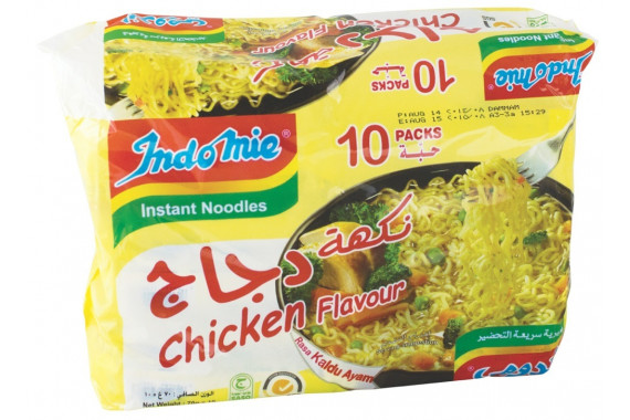 INDOMIE INSTANT CHICKEN NOODLES 75 G