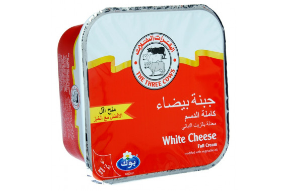 3COWS WHITE CHEESE  LOW SALT RED500 G