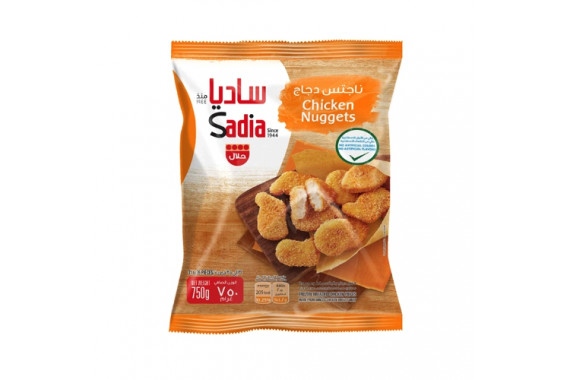 SADIA CHICKEN NUGGETS POLY BAGS TRADITIONAL 750 G