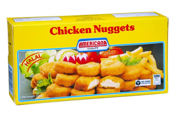 AMERICANA CHICKEN NUGGETS PACKET 270 G