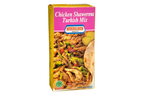 AMERICANA CHICKEN SHAWARMA TURKISH 350 G