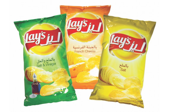 LAYS ASSORTED CHIPS 160GX3