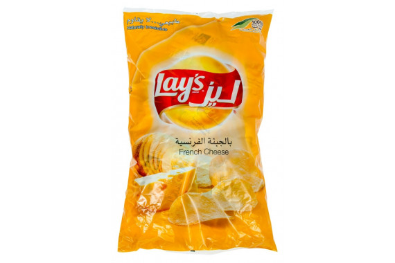 LAYS POTATO CHIPS FRENCH CHEESE-14 G