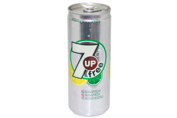 7UP FREE- CANS -250 ML