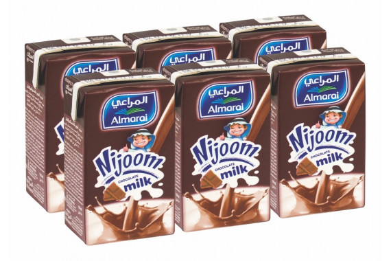 ALMARAI NIJOOM CHOCO MILK 6PCS X 150ML