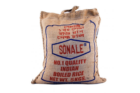 SONALE PARABOILED RICE 5KG