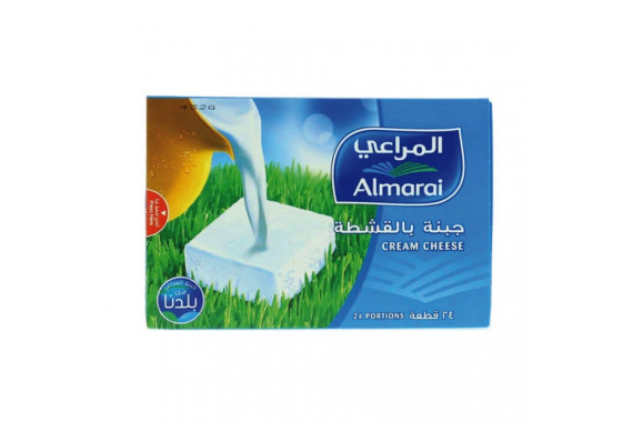 ALMARAI CREAM CHEESE PORTION 432G