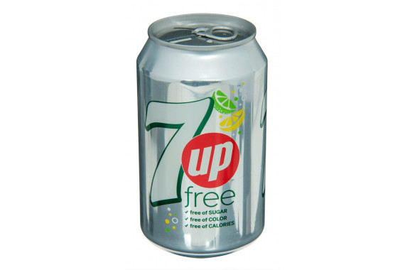 7UP FREE CANS- 330 ML