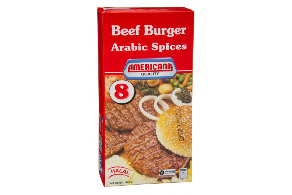 AMERICANA BEEF BURGER WITH ARABIC SPICES - 448 G