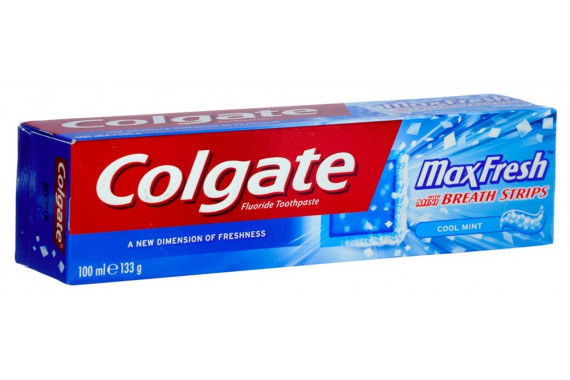 COLGATE TOOTHPASTE MAX FRESH COOL MINT 100 ML
