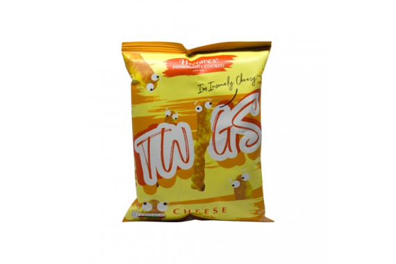 HECTARE'S TWIGS CHEESE CORN SNKS  30G
