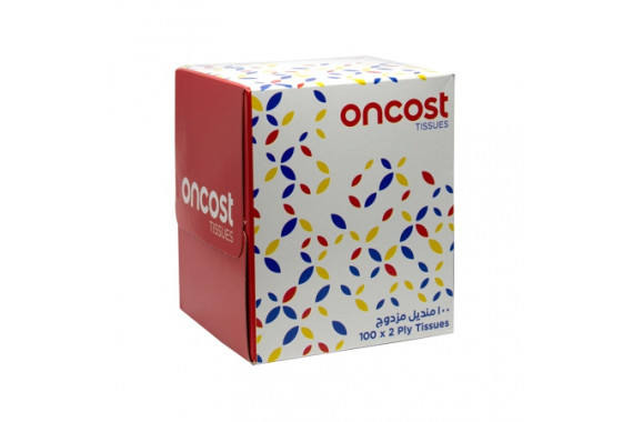 ONCOST FACIAL TISSUE 100'S