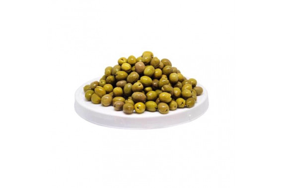 SYRIAN GREEN OLIVES WITH SALAD KG