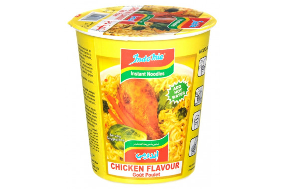 INDOMIE- INSTANT NOODLES WITH CHICKEN - CUP 60 G
