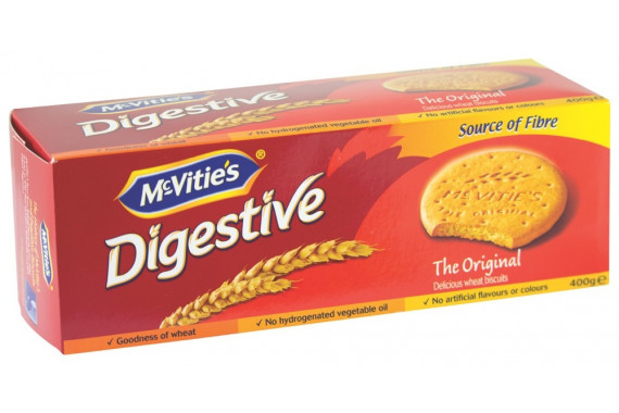 MCVITIES DIGESTIVE BISCUITS - 400 G