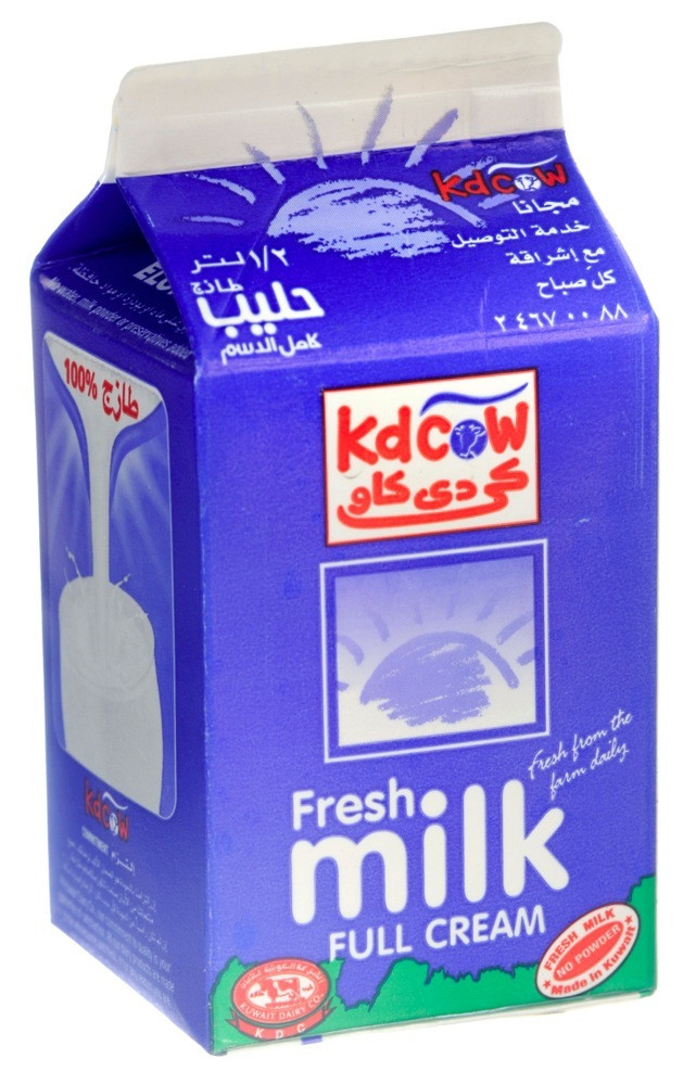 KDCOW FULL CREAM MILK- 500 ML - FRESH MILK - MILK - DAIRY