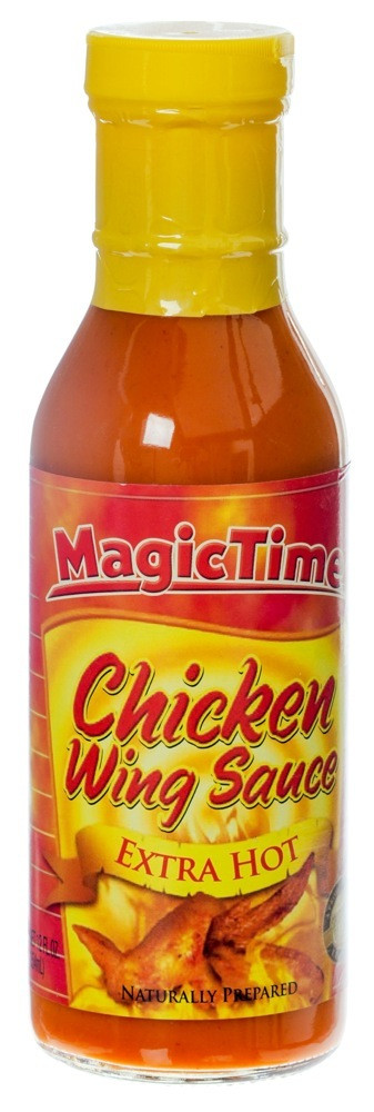 MAGIC TIME - CHICKEN WINGS SAUCE EXTRA HOT - 354 ML