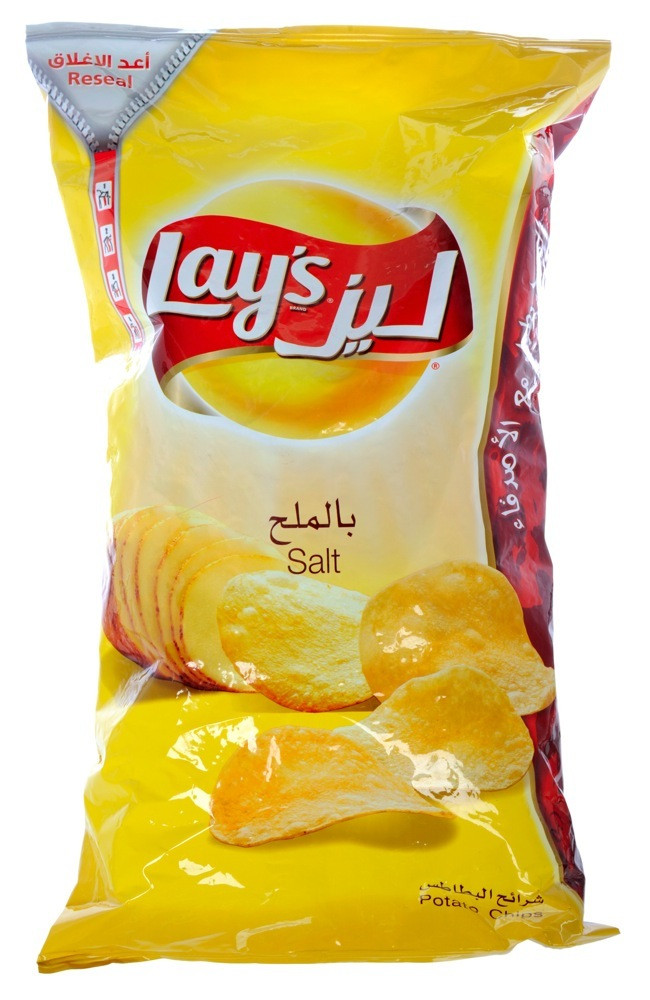 LAY'S POTATO CHIPS WITHSALT 160G