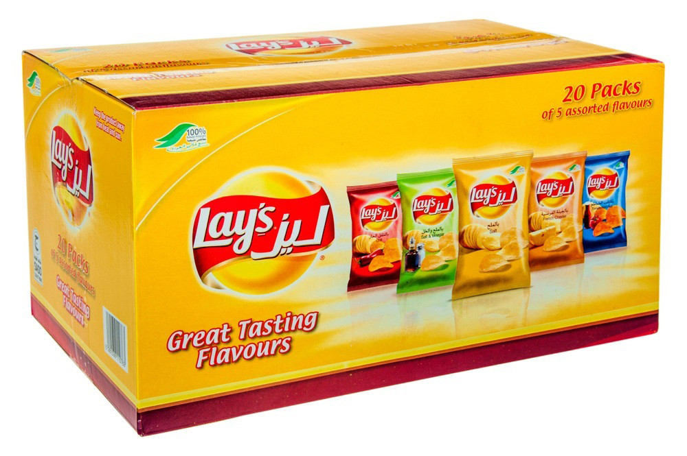 LAY'S ASSORTED BOX - 14 G