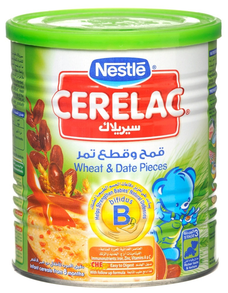 CERELAC WHEAT & DATE PIECES 400G