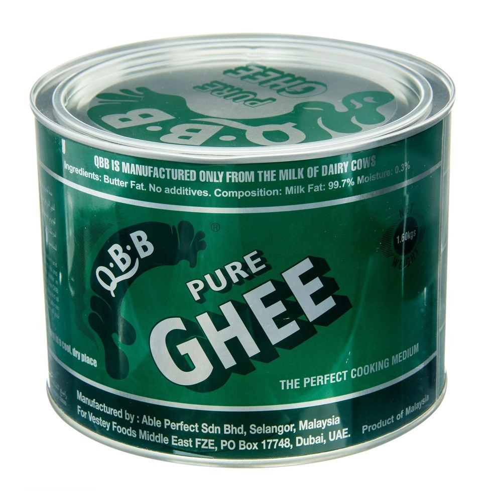 QBB PURE BUTTER GHEE-1.6 KG