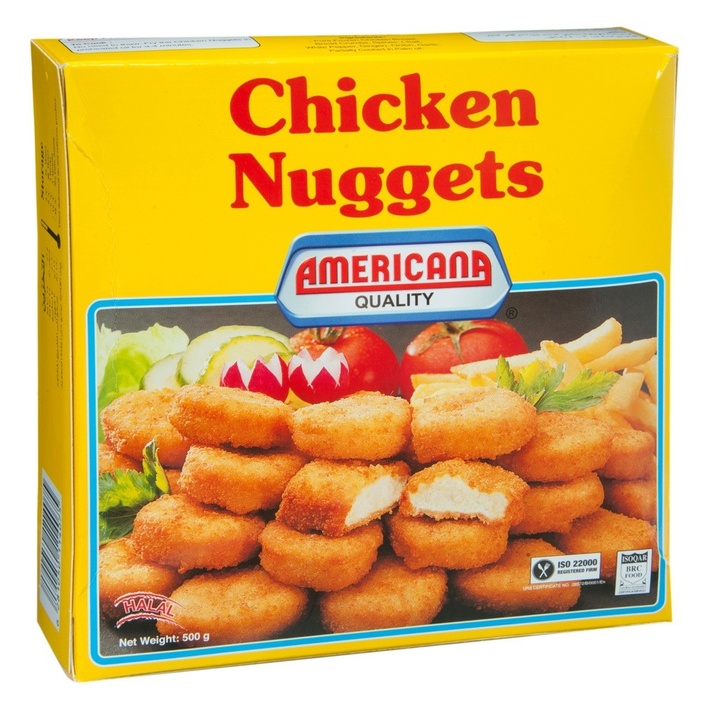 AMERICANA CHICKEN NUGGETS FAMILY PACK 500 G