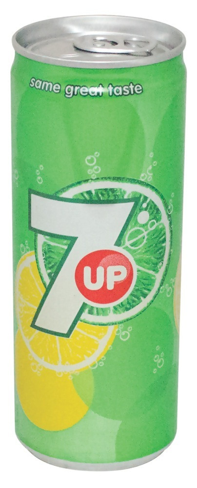 7UP CANS - 250 ML