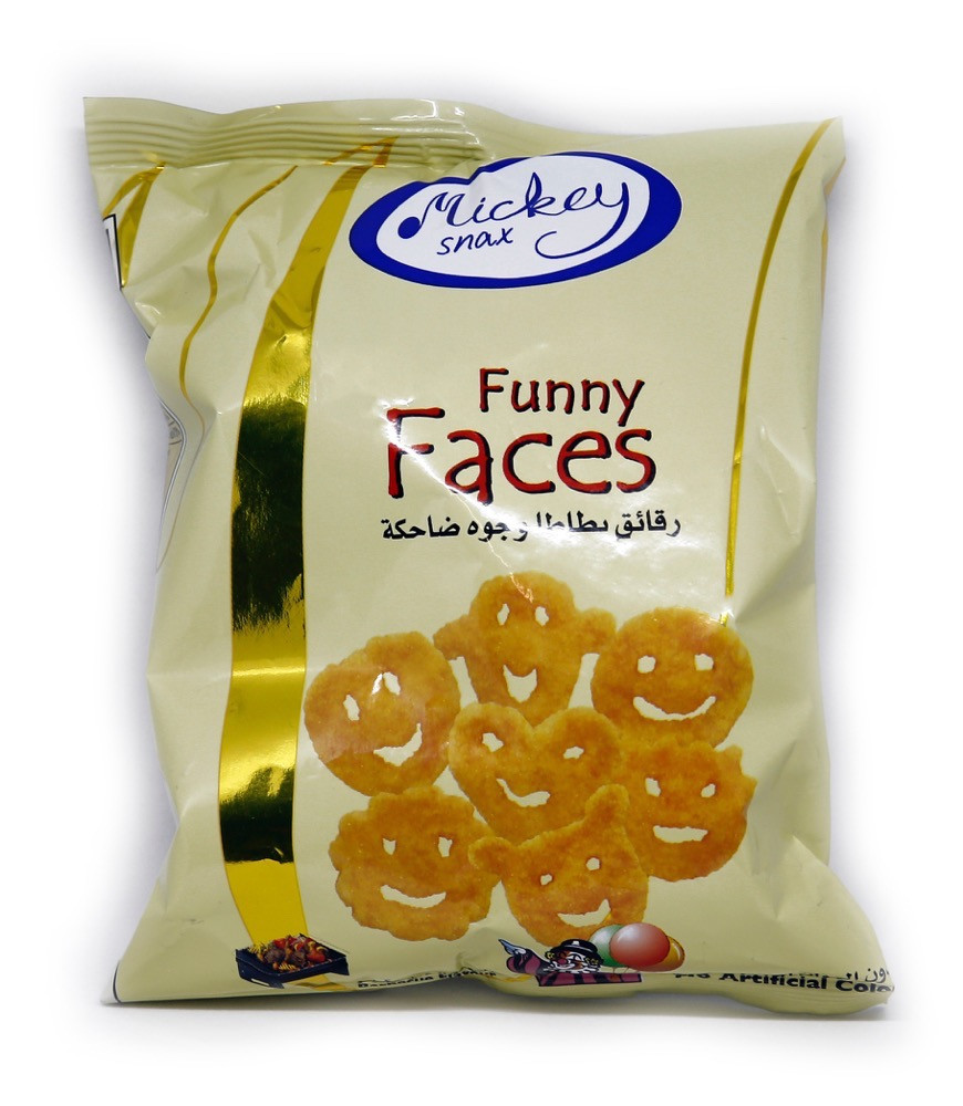 MICKEY FUNNY FACES 16G