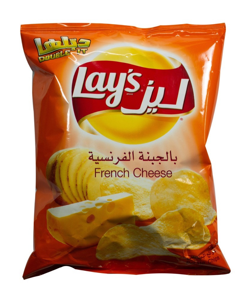LAYS POTATO CHIPS FRENCH CHEESE 48G