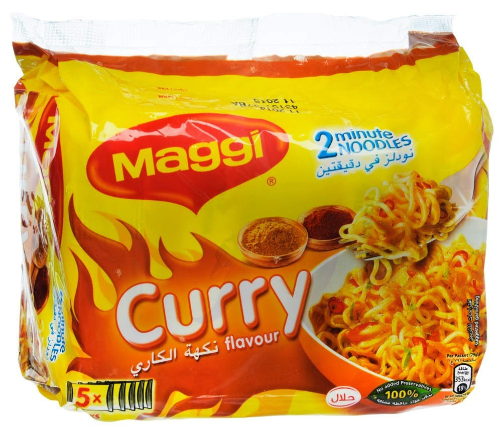 MAGGI 2 MINUTE NOODLES WITH CURRY FLAVOR- 79 G