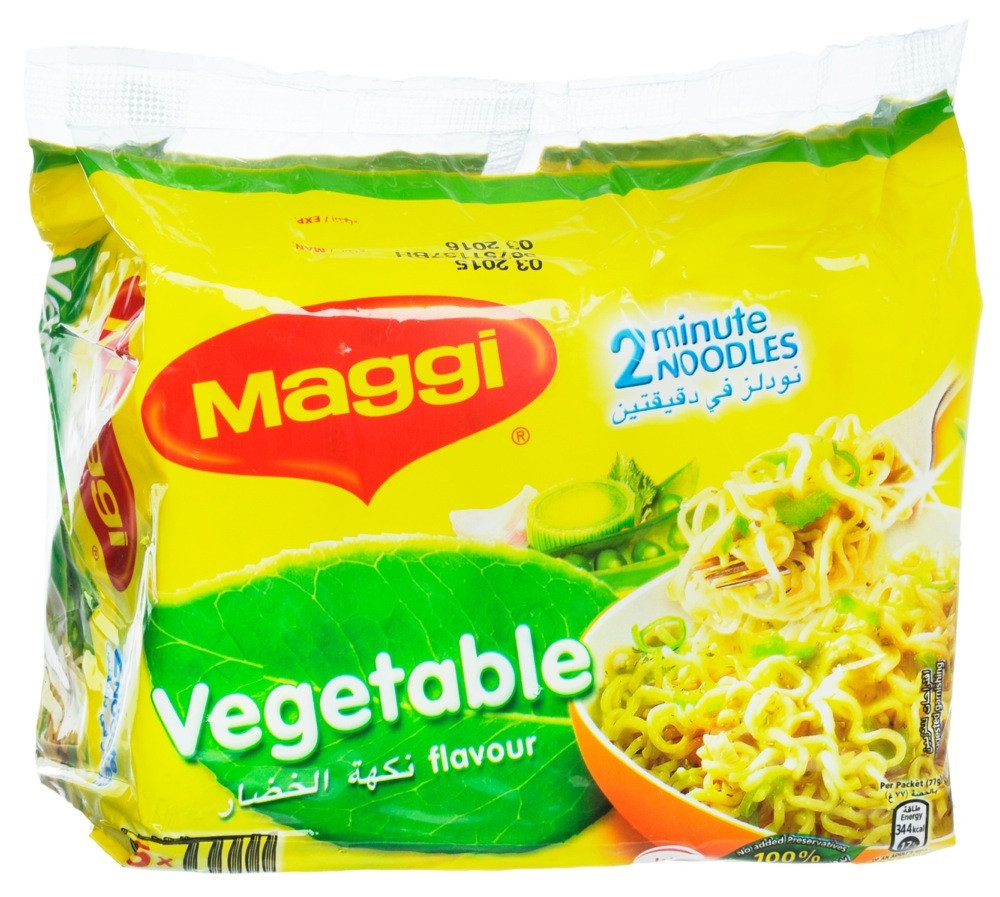 MAGGI 2 MINUTE  NOODLES WITH VEGETABLE FLAVOR-  77 G