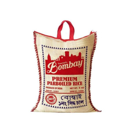 BOMBAY PARBOILED RICE 5 KG