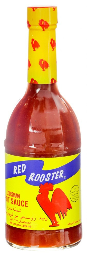 RED ROOSTER LOUISIANA HOT SAUCE - 355 ML