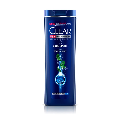 CLEAR COOL SPORT -ANTI-DANDRUFF SHAMPOO WITH MENTHOL FOR MEN- 200 ML