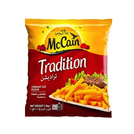 MCCAIN TRADITIONAL FRENCH FRIES 9/9 1.5KG
