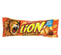 LION CHOCOLATE BAR WITH PEANUTS- 40 G