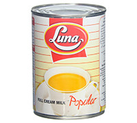 LUNA EVAPORATED MILK- 410 G