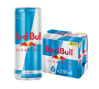 RED BULL- SUGARFREE ENERGY DRINK- CAN 250 ML