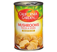 CALIFORNIA GARDEN - MUSHROOM PIECES 425 G