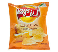 LAYS' POTATO CHIPS WITH FRENCH CHEESE 23G