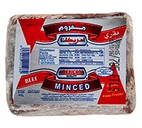 AMERICANA - FROZEN MINCED BEEF SQUARE - 400 G