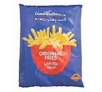 LAMB WESTON STEALTH FRIES - 9X9- 2.5 KG
