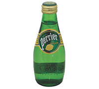 PERRIER WATER WITH NATURAL LEMON 200 ML