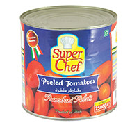 SUPER CHEF PEELED TOMATO-2550G