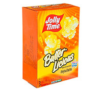 JOLLY TIME BUTTER LICIOUS MICROWAVE 298 G