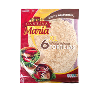 CANTINA MARIA W WHEAT TORTILLAS 360 G